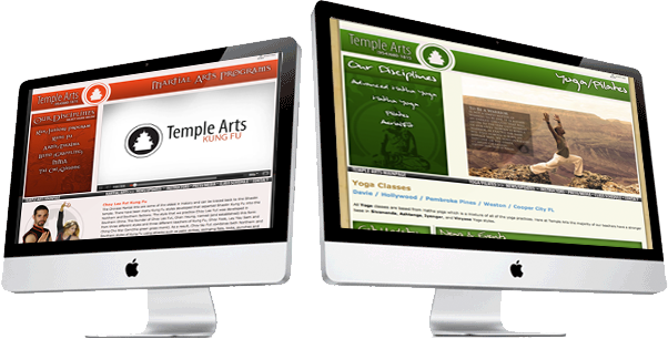 Temple Arts Website