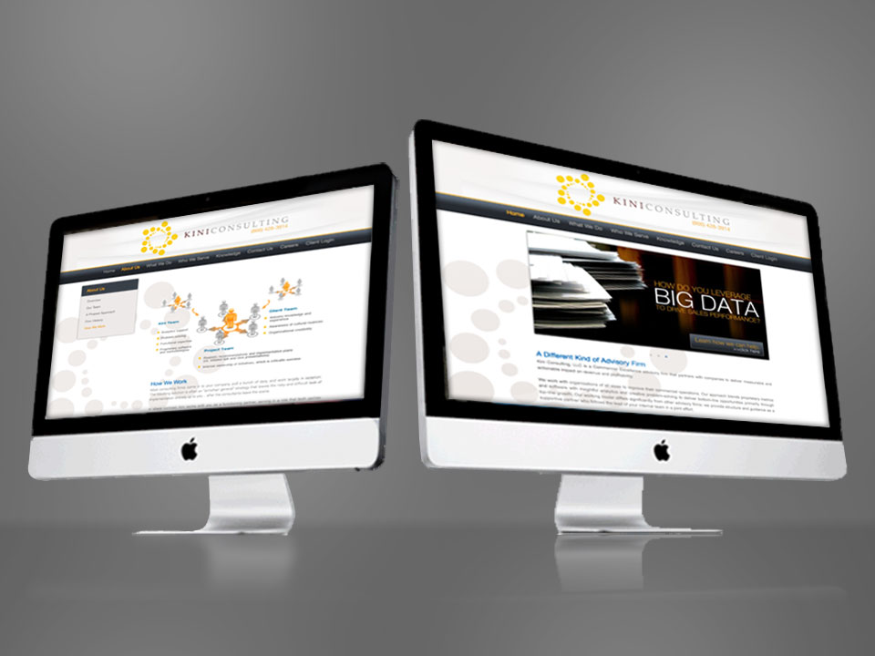 KiniConsulting Website Design