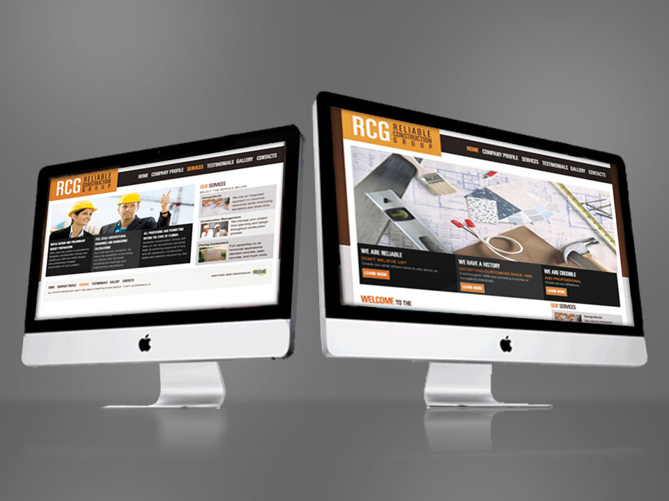 Reliable Construction Group Website