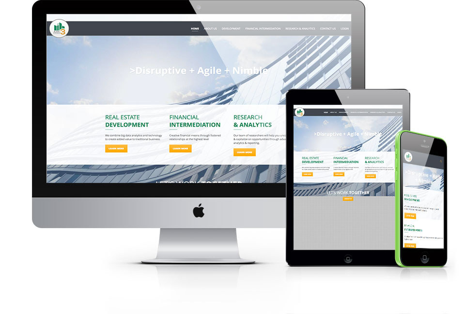 ARC3Dev Responsive Web Design